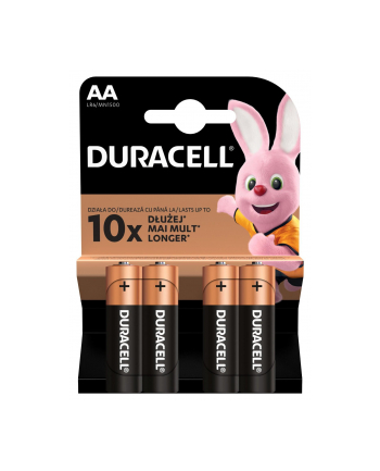 Baterie alkaliczne Duracell (x 4)