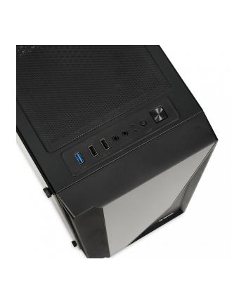 Obudowa IBOX WIZARD 3 OW3 (ATX  Micro ATX  Mini ITX; kolor czarny)