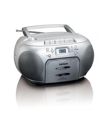 Radioodtwarzacz CD LENCO SCD 420 (kolor srebrny)