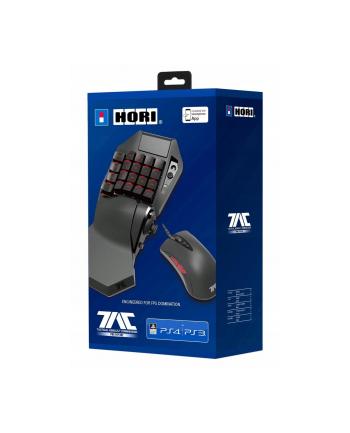 Klawiatura HORI TAC Pro v.2 (membranowa; USB 2.0; kolor czarny; optyczna; 3200 DPI)