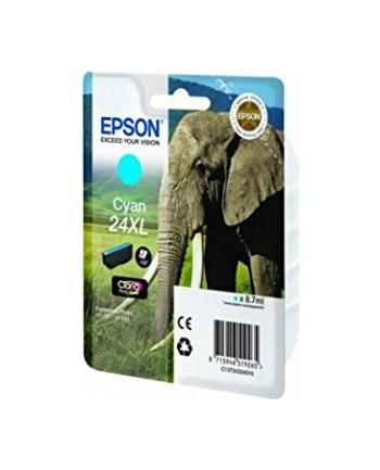 Tusz Epson C13T24324012 (oryginał 24XL; 8 7 ml; niebieski)