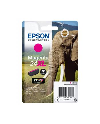 Tusz Epson C13T24334012 (oryginał T2433; 8.7 ml; czerwony)