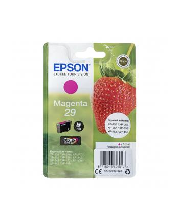 Tusz Epson C13T29834020 (oryginał T29XL; 3.2 ml; czerwony)