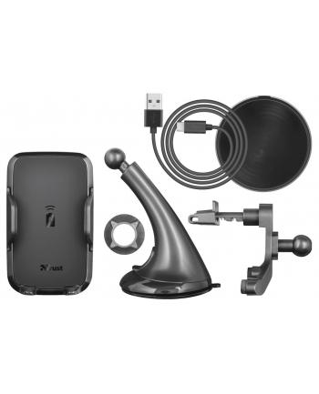 Ładowarka bezprzewodowa Trust Yudo10 Fast 23133 (USB; kolor czarny)