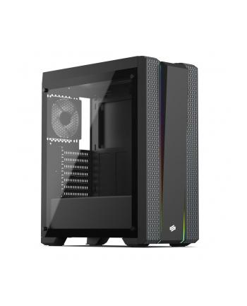 Obudowa SilentiumPC Gladius SPC215 (ATX  Micro ATX  Mini ITX; kolor czarny)