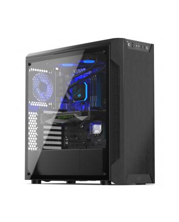Obudowa SilentiumPC Armis SPC221 (ATX  Micro ATX  Mini ITX; kolor czarny)