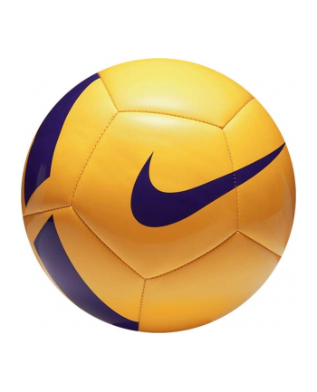 Piłka nożna Nike Pitch Team SC3166-701 (0 39 kg; kolor żółty)