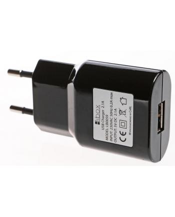 Ładowarka Libox LB0059 (USB; kolor czarny)