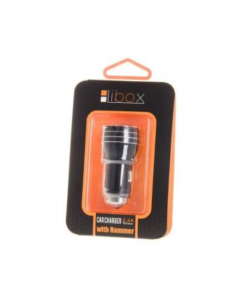Ładowarka Libox LB0057 (2400 mA; USB)