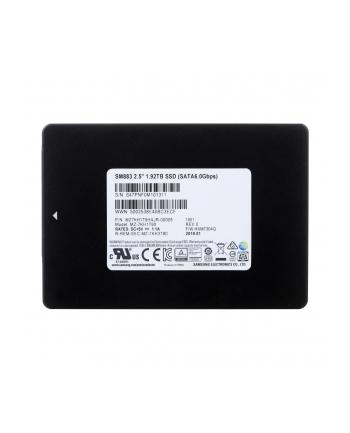 samsung semiconductor SSD SAMSUNG 1 92TB 2 5  SM883 MZ7KH1T9HAJR