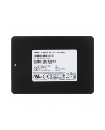 samsung semiconductor SSD SAMSUNG 960GB 2 5  SM883 MZ7KH960HAJR