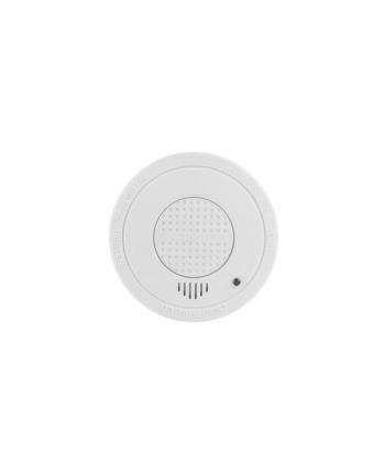 Czujnik Lanberg SR-1001 (Monitorowanie pomieszczeń pod kątem występowania w nich dymu; kolor biały)