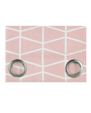 Zasłony Room99 ROM1292 (140x250 cm; kolor pudrowy róż)