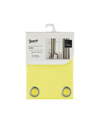 Zasłony Room99 ROM1294 (140x250 cm; kolor żółty)