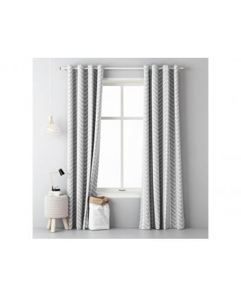 Zasłony Room99 ROM1296 (140x250 cm; kolor szary)