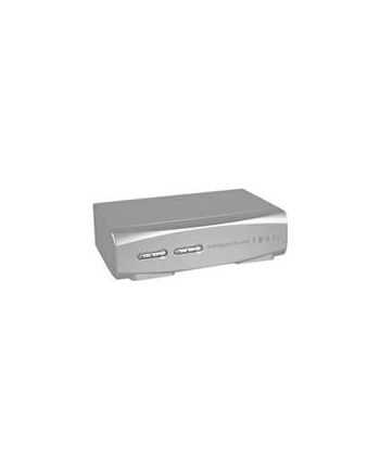 Lindy 2 Port DVI-I Single Link, USB 2.0 & Audio KVM Switch Pro - KVM / Audio / USB Switch - 2 x KVM / Audio / USB - 1 Local User - Desktop