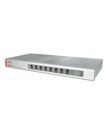 Lindy Combo 8 Port KVM Switch - Video- switch - USB - 8 x VGA - an Rack mountable (39523)