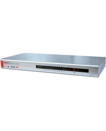 Lindy KVM CAT-32 IP Switch - KVM Switch - PS / 2, USB - CAT5 - 32 x KVM Port (s) - 1 Local User - Rack Mountable (39631)