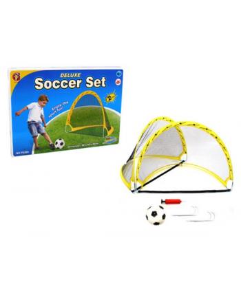 Zestaw małego piłkarza 2 bramki + piłka BRIMAREX