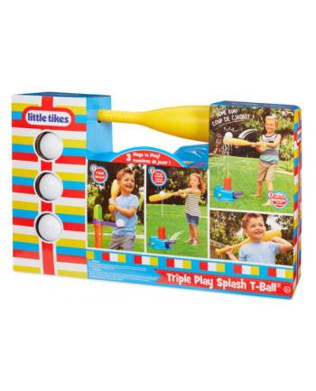 little tikes LT Triple Play Splash T-Ball - Zestaw do nauki gry w baseball 648465