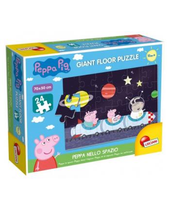 lisciani giochi Puzzle gigant 24el.  Świnka Peppa w kosmosie L