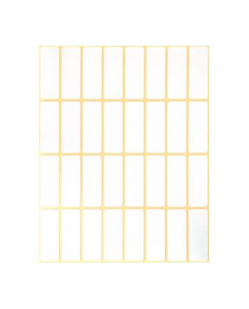 avery zweckform Mini etykiety w arkuszach do opisywania ręcznego, 38 x 14mm, białe, 928 sztuk