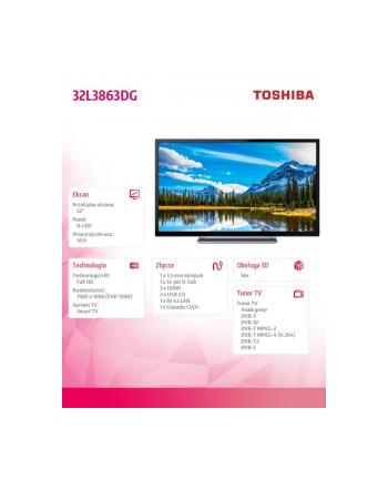 toshiba Telewizor LED 32 32L3863DG