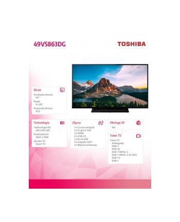 toshiba Telewizor LED 49 49V5863DG