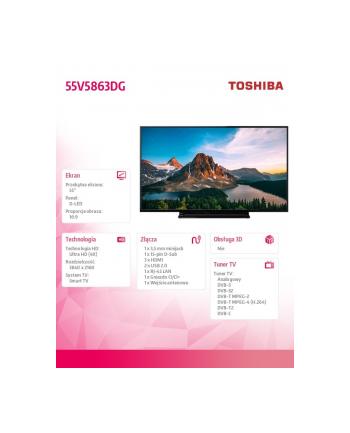 toshiba Telewizor LED 55 55V5863DG