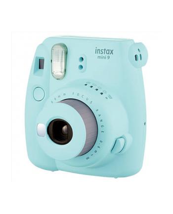 Fujifilm Instax Mini 9 camera Ice Blue, 0.6m - ∞ + Instax mini glossy (10)