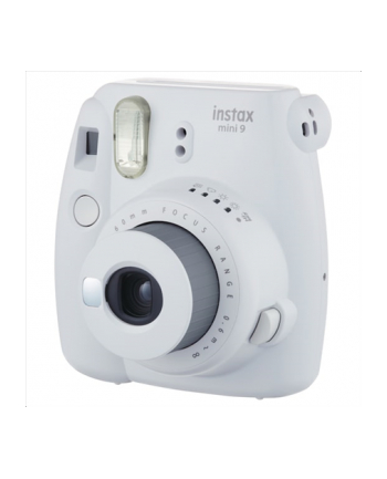 Fujifilm Instax Mini 9 + Instax mini glossy (10) Compact camera, Focus 0.6m - ∞, Smoky White
