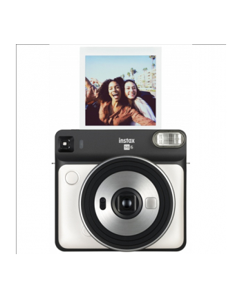 Fujifilm Instant Camera Instax Square SQ6 Pear White
