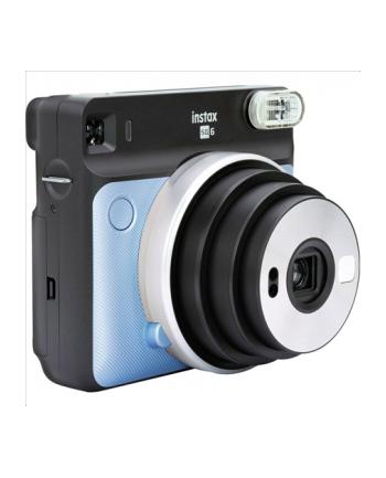 Fujifilm Instax Square SQ6 Instant Camera Aqua Blue + Square glossy (10pl)