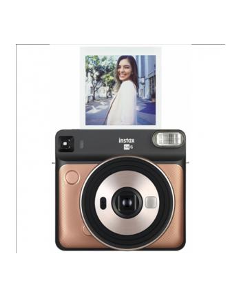 Fujifilm Instax Square SQ6 Instant Camera Blush Gold + instax Square glossy (10pl)