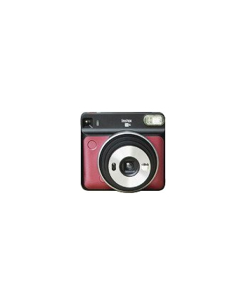 Fujifilm Instax Square SQ6 Instant Camera Ruby Red + Square glossy (10pl)