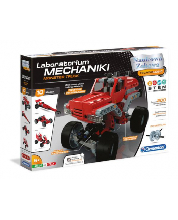 Clementoni Laboratorium mechaniki Monster Truck 50062