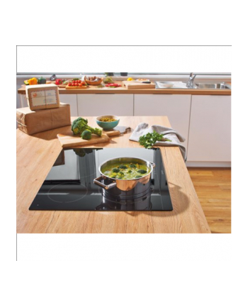 Gorenje ECT641BSC Hob, Glass-ceramic, 4 HiLight cooking zones, 6500W, black