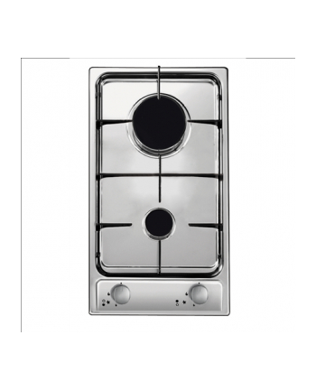 Candy CDG32/1SPX Built-In Gas Hob, 2 cooking zones, One Touch Ignition, Stainless steel