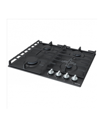 Gorenje Gas hob G641MB, Gas control, Natural gas G20 / 20, Cast iron grilles, Automatic electric ignition, XtraSurface, black
