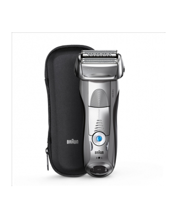 Braun 7893s + travel case Series 7 Shaver , Warranty 24 month(s), Wet use, Rechargeable, Charging time 1 h, Li-Ion, Battery powered, Number of shaver heads/blades 1, Silver
