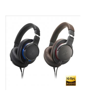 Audio Technica ATH-MSR7bBK Portable Headphones, Black