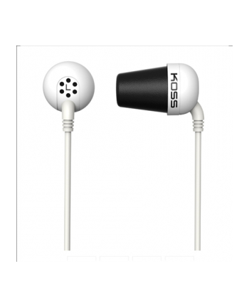 Koss Plug In-Ear Headphones (White)