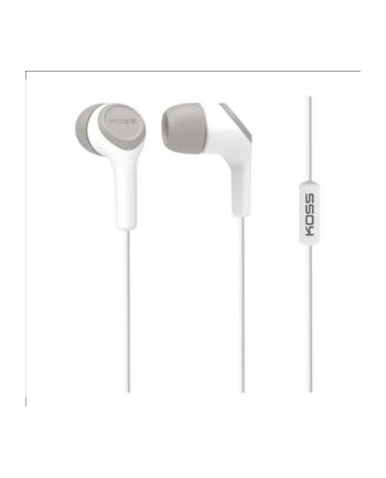 Koss KEB15iW - In Ear Bud w/Mic White