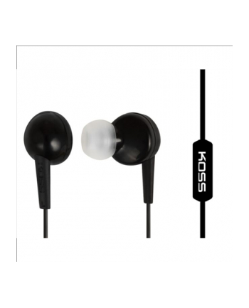 Koss KEB6iK - Earbud w/Enhanced Driver w/Mic Black