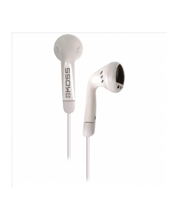 Koss KE5w - Lightweight On Ear Bud  White