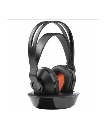 One For All HP1030 Rechargeable wireless TV headphones, Black