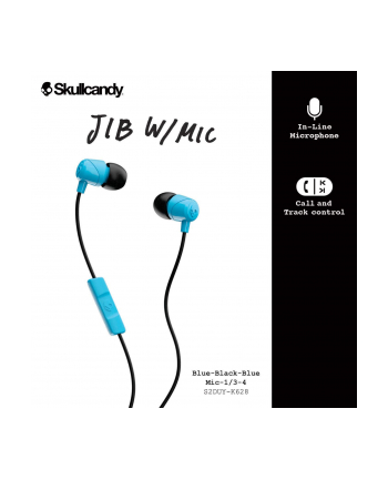Skullcandy JIB Earbuds With Mic Blue/Black