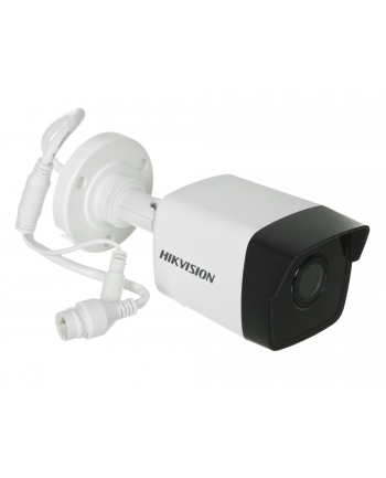 Hikvision IP kamera D/N DS-2CD1041-I F2.8, BULLET, DWDR, EasyIP Lite, H.264; 4MPix, 2.8mm(~98°), IR pašvietimas iki 30m, IP67, PoE