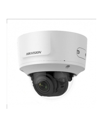 Hikvision IP kamera D/N DS-2CD2785G0-IZS, DOME, WDR 120dB powered by DARKFIGHTER, H.265+; 8MP (4K) ,2.8-12mm(~122°-46°), SD slot iki 128GB,IR pašvietimas iki 30m, MOTOR. obj., AUDIO, IN/OUT, IP67, IK10;