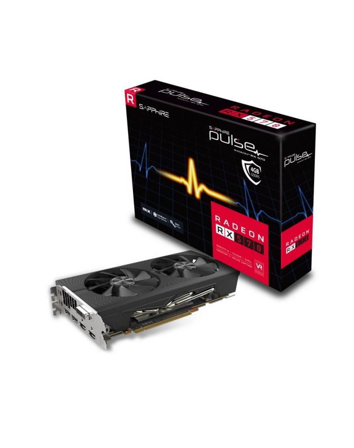 sapphire technology Karta graficzna Radeon RX 570 PULSE 4GB GDDR5 256BIT 2HDMI/2DP OC główny